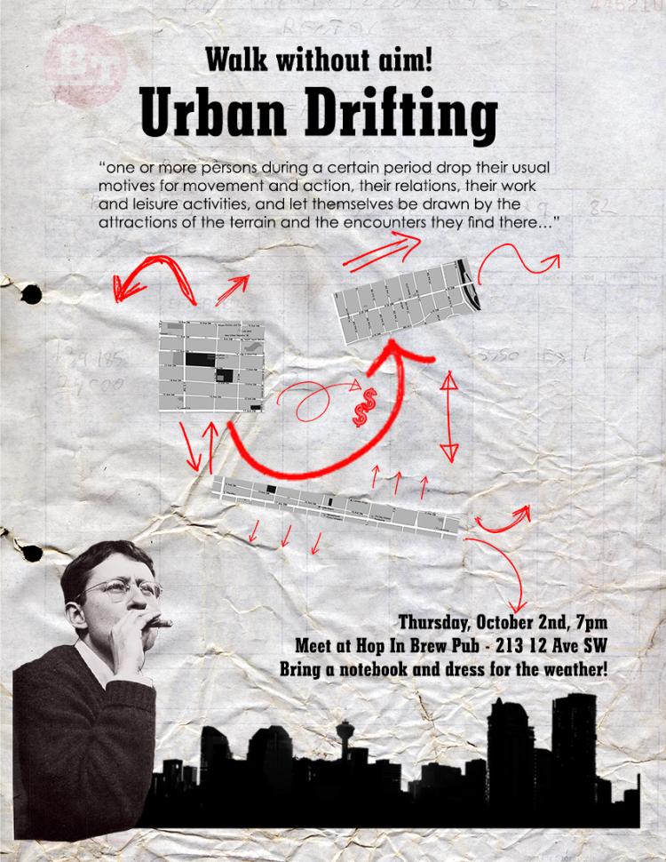 Urban Drifting Poster - FB sized